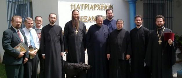 Епархиальное собрание духовенства Йоханнесбургской епархии.