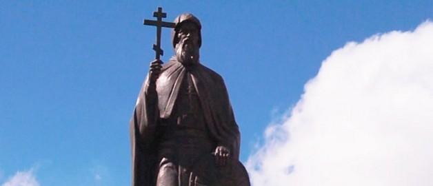 В Минске открыт памятник преподобному Сергию Радонежскому
