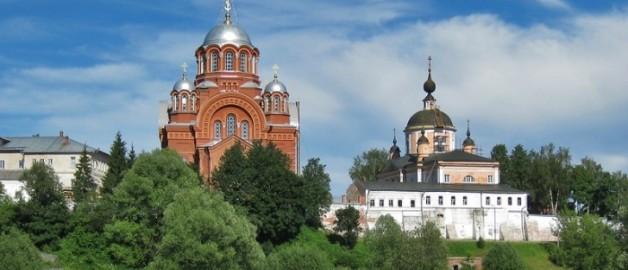 Святейший Патриарх Кирилл возглавил многотысячный крестный ход из Хотьково в Сергиев Посад