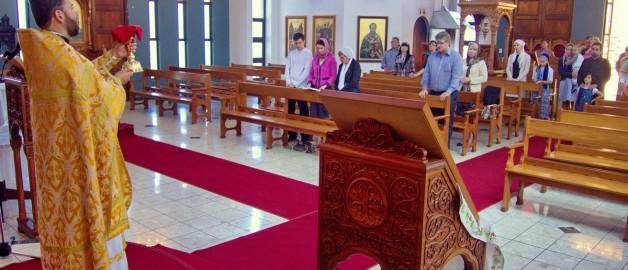 Отдание праздника Воздвижения Креста Господня в Дурбане