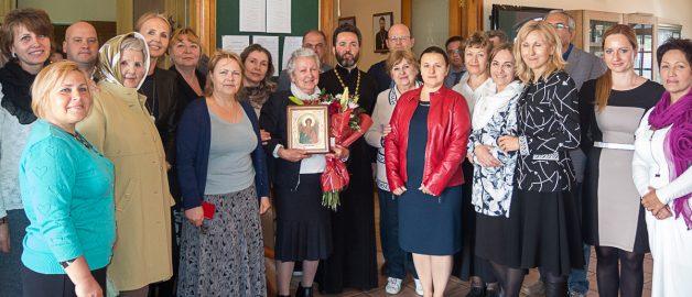 70th anniversary of the parish choirmaster Angelina Davtyan