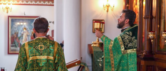 Протоиерей Даниил Луговой, настоятель храма преп. Сергия Радонежского с 2009 года