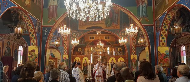День Ангела архиепископа Дамаскина