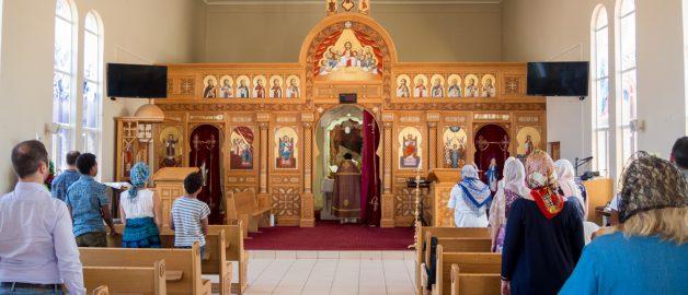 Богослужение в Виндхуке