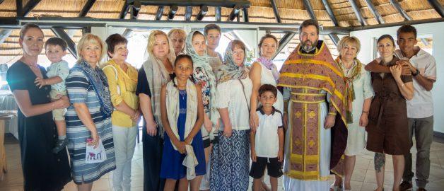 Богослужение в Намибии