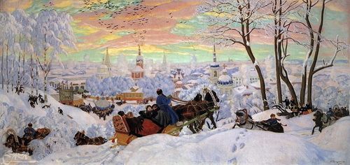 Кустодиев Б.М. Масленица2