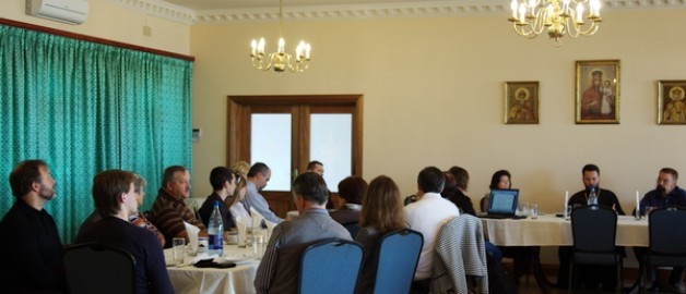 Состоялось заседание Приходского собрания храма прп. Сергия Радонежского.