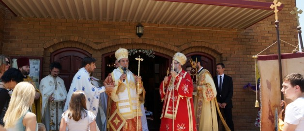 Настоятель и прихожане русского храма приняли участие в праздновании престольного праздника  сербского храма св. ап. Фомы