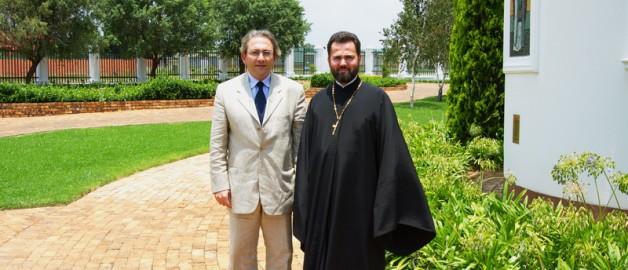 Новоназначенный посол Кипра посетил русский храм