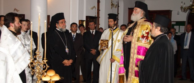 The Pope and Patriarch of Alexandria and all Africa visited the Russian Сhurch