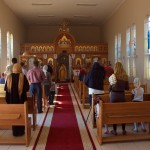 Богослужение в храме апостола Марка в Виндхуке