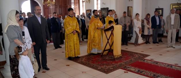В храме прп. Сергия Радонежского прошли торжества в честь 200-летия победы в Отечественной войне 1812 года