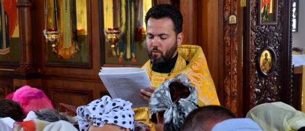 Таинство Елеосвящения в храме прп. Сергия Радонежского