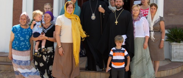 Архиепископ Йоханнесбургский совершил богослужение в русском храме