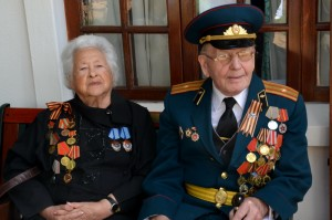В.П. Аринин и Ц.А. Майбурд