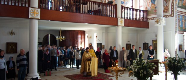Celebrations in honour of 1025 years that Russia was baptised took place in South Africa