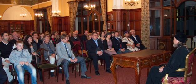Встреча архиепископа Марка с русскоязычной общиной Кейптауна