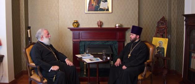 Патриарх Александрийский поздравил прихожан русского храма с 10-летием освящения