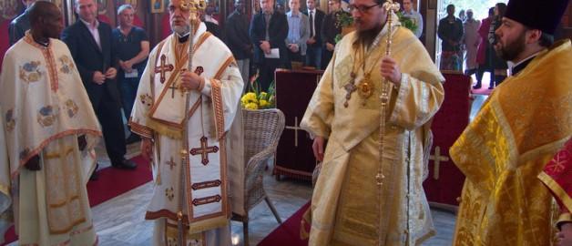 Престольный праздник в сербском храме