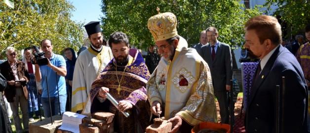 Закладка часовни во имя святого равноапостольного великого князя Владимира