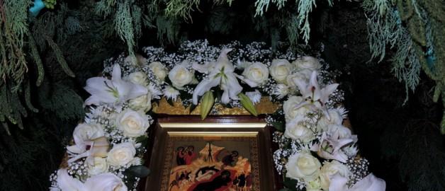 Рождественское богослужение в храме прп. Сергия Радонежского