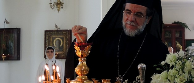 Archbishop of Johannesburg and Pretoria held a service in the church of St. Sergius of Radonezh