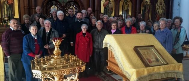 Прихожане голландской реформатской храма посетили храм прп. Сергия Радонежского