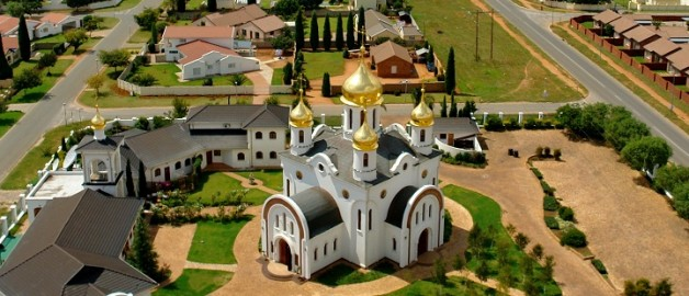 Parishioners from the German Catholic Church visited the Church of St. Sergius of Radonezh