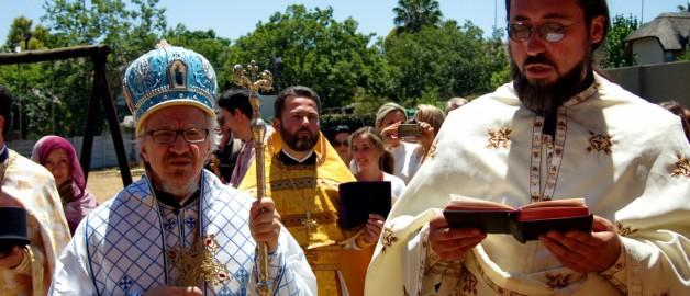 Настоятель и прихожане храма прп. Сергия приняли участие в престольном празднике сербского храма