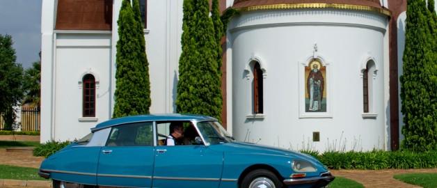 Храм прп. Сергия Радонежского посетили члены Citroen Car Club of South Africa