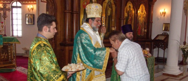 Archbishop of Johannesburg and Pretoria conducted a service in the Russian church