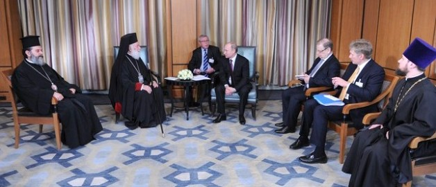Состоялась встреча Президента России с Предстоятелем Александрийской Православной Церкви