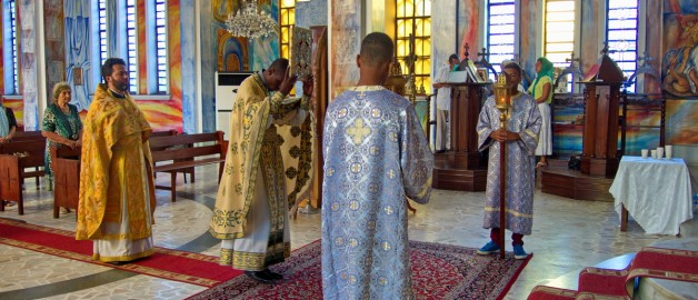Богослужение в Мозамбике
