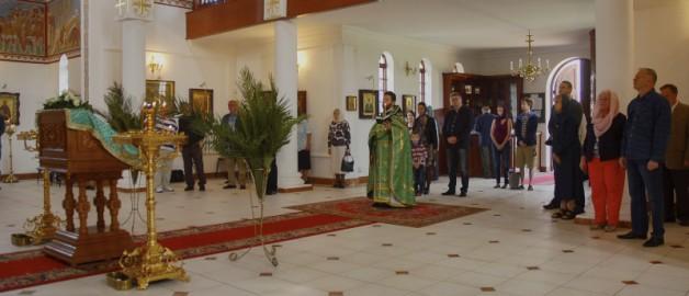 Праздник Входа Господня во Иерусалим