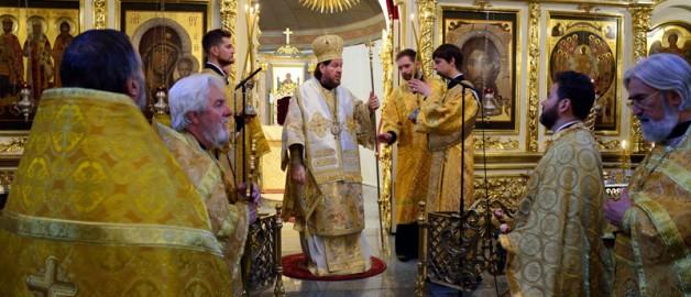 Настоятель русского храма в Йоханнесбурге посетил Московское подворье Александрийской Православной Церкви