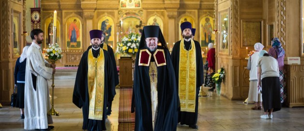 Престольный праздник в храме святителя Николая в Покровском