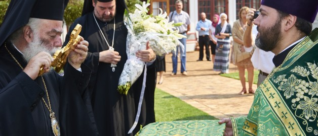 Patriarch of Alexandria and All Africa, Theodore II, lead his first Divine Liturgy at the Russian church in South Africa