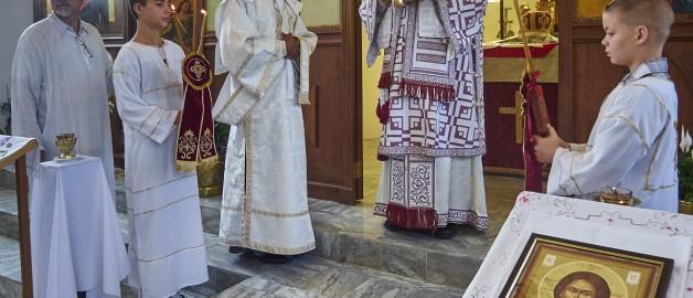 Престольный праздник сербского храма в честь св. ап. Фомы