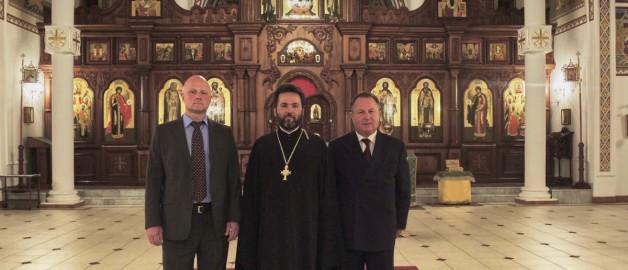 Визит президента Международного Фонда единства православных народов