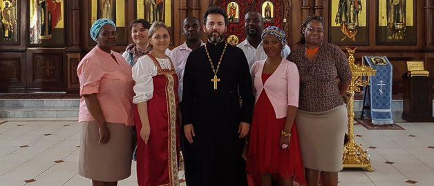 Группа по изучению русского языка посетила православный храм
