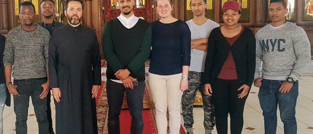 Студенты Йоханнесбургского университета посетили храм прп. Сергия Радонежского
