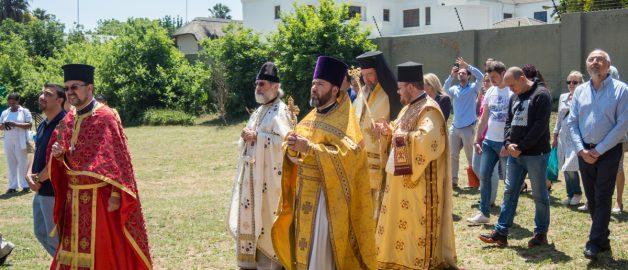 Престольный праздник сербского храма