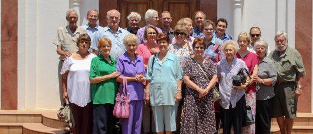 Прихожане Голландской реформатской церкви посетили храм прп. Сергия Радонежского