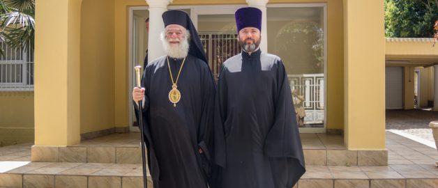 Встреча с главой Александрийской Православной Церкви