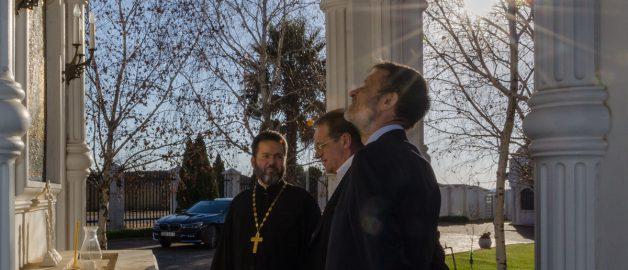 Специальный представитель Президента РФ по Ближнему Востоку и странам Африки посетил храм прп. Сергия Радонежского