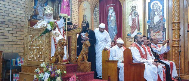 Возведение в сан митрополита коптского епископа Антониуса Маркоса