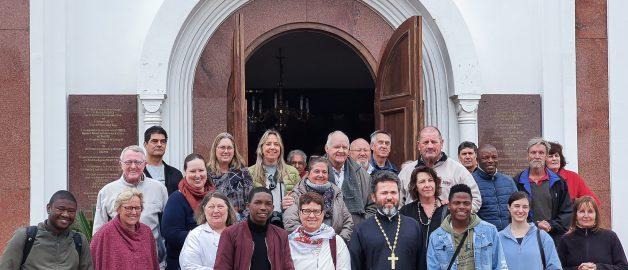 Храм прп. Сергия Радонежского посетили члены ассоциации архитекторов ЮАР